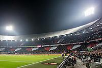 ROTTERDAM - Feyenoord - Vitesse , Voetbal , Eredivisie , Seizoen 2016/2017 , De Kuip , 16-12-2016 , Overzicht van sfeeractie voor de hart stichting