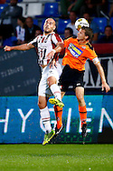 Onderwerp/Subject: Willem II - FC Volendam - Jupiler League<br /> Reklame:  <br /> Club/Team/Country: <br /> Seizoen/Season: 2013/2014<br /> FOTO/PHOTO: Ruud BOYMANS (L) of Willem II in duel with Gerry KONING (R) of FC Volendam. (Photo by PICS UNITED)<br /> <br /> Trefwoorden/Keywords: <br /> #04 $94 &plusmn;1372506528100<br /> Photo- &amp; Copyrights &copy; PICS UNITED <br /> P.O. Box 7164 - 5605 BE  EINDHOVEN (THE NETHERLANDS) <br /> Phone +31 (0)40 296 28 00 <br /> Fax +31 (0) 40 248 47 43 <br /> http://www.pics-united.com <br /> e-mail : sales@pics-united.com (If you would like to raise any issues regarding any aspects of products / service of PICS UNITED) or <br /> e-mail : sales@pics-united.com   <br /> <br /> ATTENTIE: <br /> Publicatie ook bij aanbieding door derden is slechts toegestaan na verkregen toestemming van Pics United. <br /> VOLLEDIGE NAAMSVERMELDING IS VERPLICHT! (&copy; PICS UNITED/Naam Fotograaf, zie veld 4 van de bestandsinfo 'credits') <br /> ATTENTION:  <br /> &copy; Pics United. Reproduction/publication of this photo by any parties is only permitted after authorisation is sought and obtained from  PICS UNITED- THE NETHERLANDS