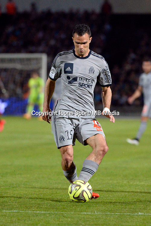 Jeremy MOREL - 12.04.2015 - Bordeaux / Marseille - 32eme journee de Ligue 1 <br />Photo : Caroline Blumberg / Icon Sport
