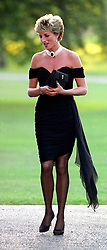 "Embargoed to 0001 Monday August 21 File photo dated 29/06/94 of Diana, Princess of Wales whose warmth, compassion and empathy for those she met earned her the description the ""people's princess""."