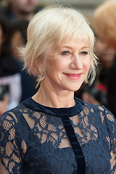 © Licensed to London News Pictures. 11/04/2016. Helen Mirren arrives for European film premiere of Eye In The Sky. London, UK. Photo credit: LNP