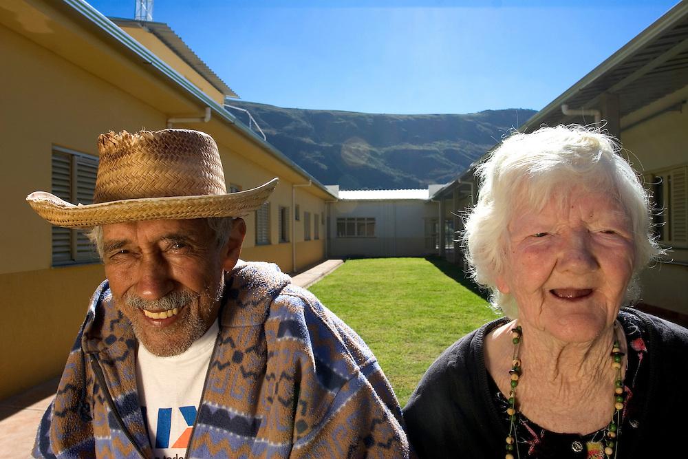 Ouro Branco_MG, Brasil...Lar Comunitario Frederico Ozanan em Ouro Branco, Minas Gerais...Nursing home in Ouro Branco, Minas Gerais...Foto: LEO DRUMOND / NITRO..