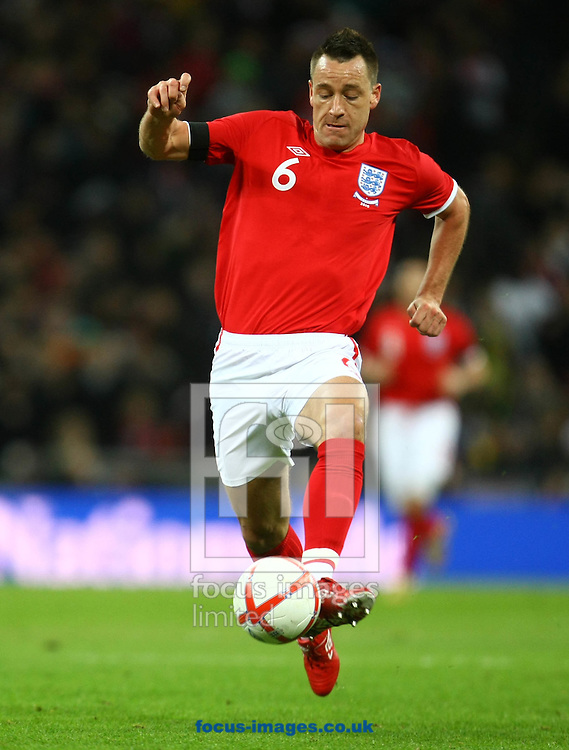 London - Wednesday, March 2nd, 2010: England's John Terry during the International Friendly match at Wembley Stadium, London. (Pic by Paul Chesterton/Focus Images)