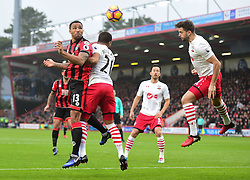Callum Wilson of Bournemouth heads at goal. - Mandatory by-line: Alex James/JMP - 18/12/2016 - FOOTBALL - Vitality Stadium - Bournemouth, England - Bournemouth v Southampton - Premier League