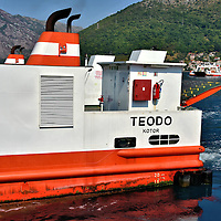 Bay of Kotor Ferry in Montenegro<br />
