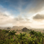 Sunrise over Vinales Valley