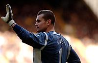 Photo: Daniel Hambury.<br />Tottenham Hotspur v Newcastle United. The Barclays Premiership. 31/12/2005.<br />Newcastle's Shay Given, who today broke his thumb.