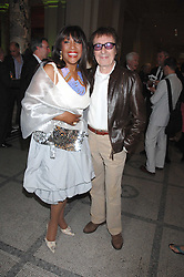 Former member of The Supremes MARY WILSON and BILL WYMAN at a private view of 'The Story of The Supremes' from the Mary Wilson collection at the V&A museum, Cromwell Road, London on 12th May 2008.<br /><br />NON EXCLUSIVE - WORLD RIGHTS