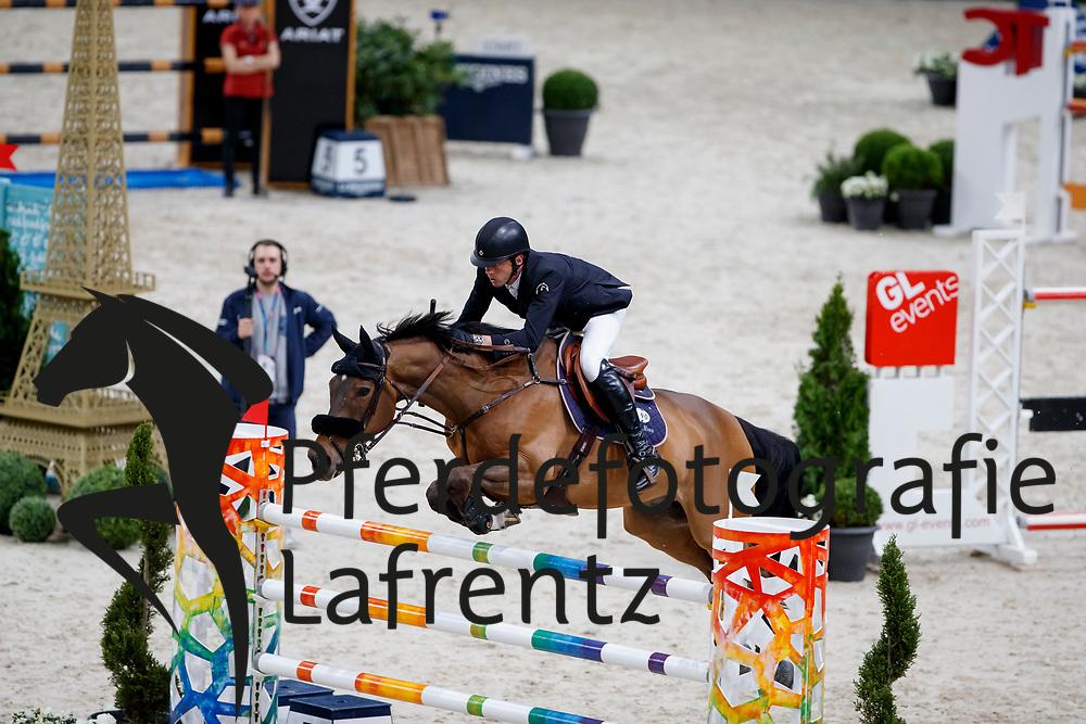 SMOLDERS Harrie (NED), Zinus<br /> Paris - FEI World Cup Finals 2018<br /> Grand Prix / Grosser Preis<br /> www.sportfotos-lafrentz.de/Stefan Lafrentz<br /> 15. April 2018