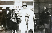 outside the Shaftesbury Theatre 1924 London