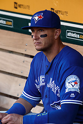 OAKLAND, CA - JULY 15:  Troy Tulowitzki #2 of the Toronto Blue Jays sits in the dugout before the game against the Oakland Athletics at the Oakland Coliseum on July 15, 2016 in Oakland, California. The Oakland Athletics defeated the Toronto Blue Jays 8-7. (Photo by Jason O. Watson/Getty Images) *** Local Caption *** Troy Tulowitzki