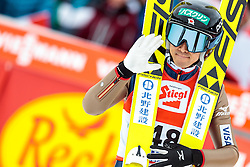 18.12.2016, Nordische Arena, Ramsau, AUT, FIS Weltcup Nordische Kombination, Skisprung, im Bild Akito Watabe (JPN) // Akito Watabe of Japan during Skijumping Competition of FIS Nordic Combined World Cup, at the Nordic Arena in Ramsau, Austria on 2016/12/18. EXPA Pictures © 2016, PhotoCredit: EXPA/ JFK