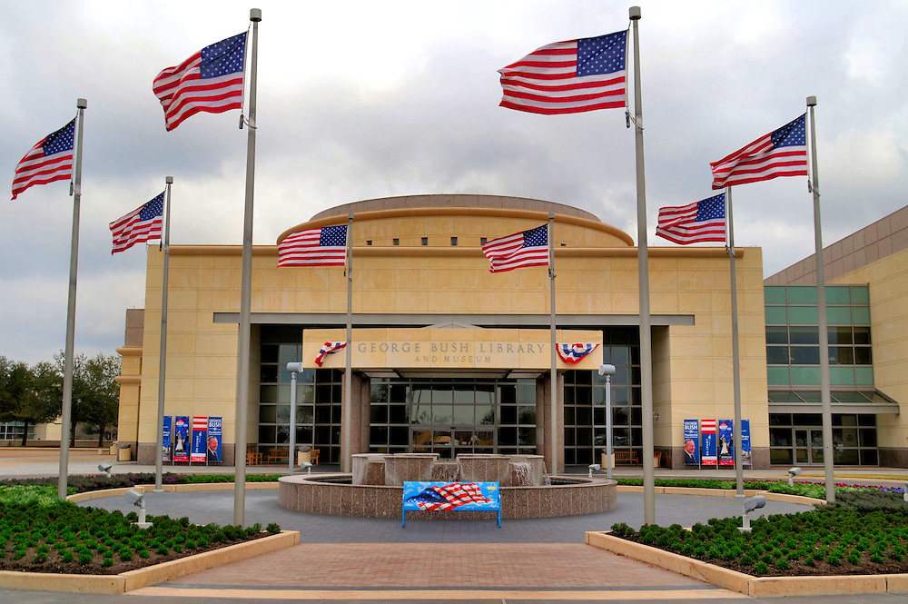 George H W Bush Presidential Library And Museum In College Station