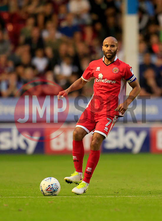 Adam Chambers of Walsall - Mandatory by-line: Paul Roberts/JMP - 18/07/2017 - FOOTBALL - Bescot Stadium - Walsall, England - Walsall v Aston Villa -  Pre-season friendly