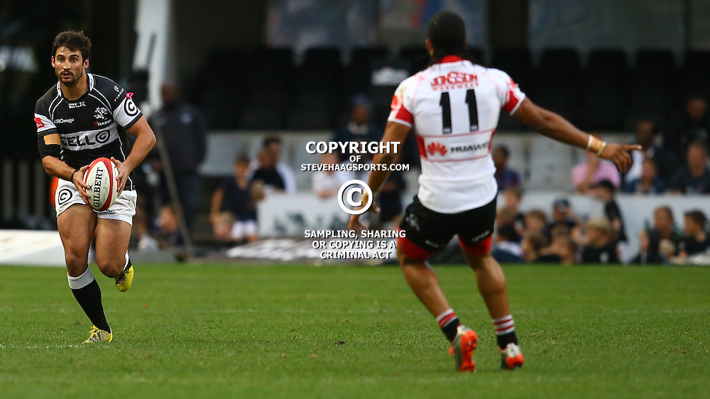 DURBAN, SOUTH AFRICA - AUGUST 22: Lionel Cronje of the Cell C Sharks during the Absa Currie Cup match between Cell C Sharks and Xerox Golden Lions at Growthpoint Kings Park on August 22, 2015 in Durban, South Africa. (Photo by Steve Haag/Gallo Images)