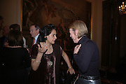 Gita Mehta and Emma Soames. Everyman's Centenary Party. The Fine Rooms. Royal Academy. London. 15 February 2006. dddONE TIME USE ONLY - DO NOT ARCHIVE  © Copyright Photograph by Dafydd Jones 66 Stockwell Park Rd. London SW9 0DA Tel 020 7733 0108 www.dafjones.com