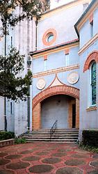 Side Stairs, Flagler Memorial Presbyterian Church