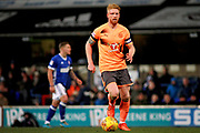 Reading defender Paul McShane (5) on the ball during the EFL Sky Bet Championship match between Ipswich Town and Reading at Portman Road, Ipswich, England on 16 December 2017. Photo by Nigel Cole.