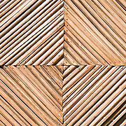 Detail of a wooden gate in Zihuatanejo, Mexico