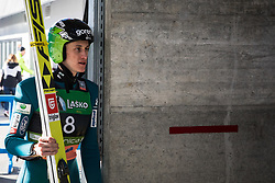 Peter Prevec (SLO) before trial round of the Ski Flying Hill Individual Competition at Day 4 of FIS Ski Jumping World Cup Final 2019, on March 24, 2019 in Planica, Slovenia. Photo Peter Podobnik / Sportida