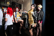 House of Trannies exhibition <br /> Photos by Ki Price<br /> Art Direction Ted Rogers