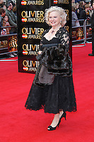 LONDON - APRIL 15:  Sandra Dickinson attends The Olivier Awards 2012 at the Royal Opera House, Covent Garden, London, UK. April 15, 2012. (Photo by Richard Goldschmidt)