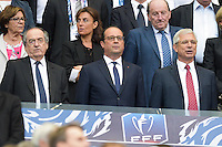 Noel LE GRAET / Francois Hollande / Claude Bartolone - 30.05.2015 - Auxerre / Paris Saint Germain - Finale Coupe de France<br />
