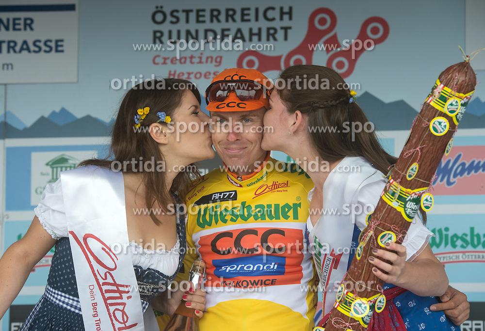 06.07.2016, Heiligenblut, AUT, Ö-Tour, Österreich Radrundfahrt, 4. Etappe, Rottenmann zur Edelweissspitze, im Bild Jan Hirt (CZE, CCC Sprandi Polkowice) // during the Tour of Austria, 4th Stage from Rottenmann to Edelweissspitze. Heiligenblut, Austria on 2016/07/06. EXPA Pictures © 2016, PhotoCredit: EXPA/ Reinhard Eisenbauer