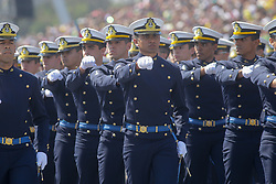 September 7, 2017 - Sao Paulo, Brazil - Military parade of September 7 marks the celebrations of Independence of Brazil in the Sambodrome in Anhembi (Credit Image: © Dario Oliveira via ZUMA Wire)