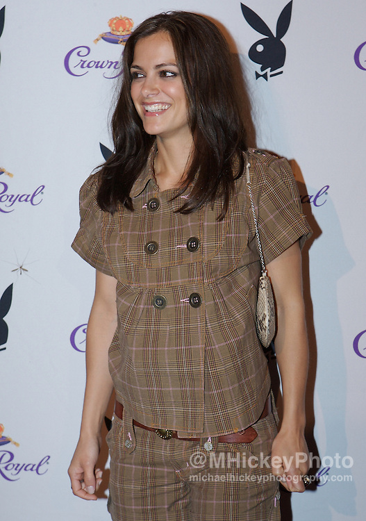 Rebecca Budig of The Bachelor at the Kentucky Derby Crown Royal Playboy party in Louisville, Kentucky on May 4 , 2007. Photo by Michael Hickey