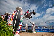 Abdel Said - Jumpy van de Hermitage<br /> FEI World Equestrian Games Tryon 2018<br /> © DigiShots