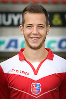 Marko Pavlovski pictured during the 2015-2016 season photo shoot of Belgian first league soccer team Royal Mouscron Peruwelz, Thursday 16 July 2015 in Mouscron.