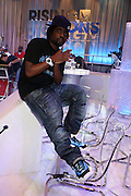 Wale at the Grey Goose and BET Presents ' Rising Icons ' featuring Wale held at BET Studios on July 28, 2009 in New York City
