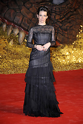 60813128 <br /> Evangeline Lilly attends the German premiere of the film 'The Hobbit: The Desolation Of Smaug', Sony Centre, Berlin, Germany,  Monday, 9th December 2013. Picture by  imago / i-Images<br /> UK ONLY