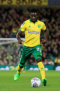 Norwich City midfielder Alexander Tettey (27) during the EFL Sky Bet Championship match between Norwich City and Burton Albion at Carrow Road, Norwich, England on 12 September 2017. Photo by Richard Holmes.