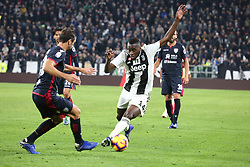 November 3, 2018 - Turin, Piedmont, Italy - Blaise Matuidi (Juventus FC)  during the Serie A football match between Juventus FC and Cagliari Calcio at Allianz Stadium on November 03, 2018 in Turin, Italy. Juventus won 3-1 over Cagliari. (Credit Image: © Massimiliano Ferraro/NurPhoto via ZUMA Press)