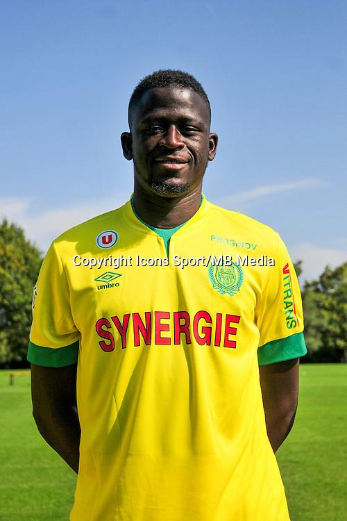Abdoulaye TOURE - 15.09.2014 - Photo officielle Nantes - Ligue 1 2014/2015<br /> Photo : Philippe Le Brech / Icon Sport