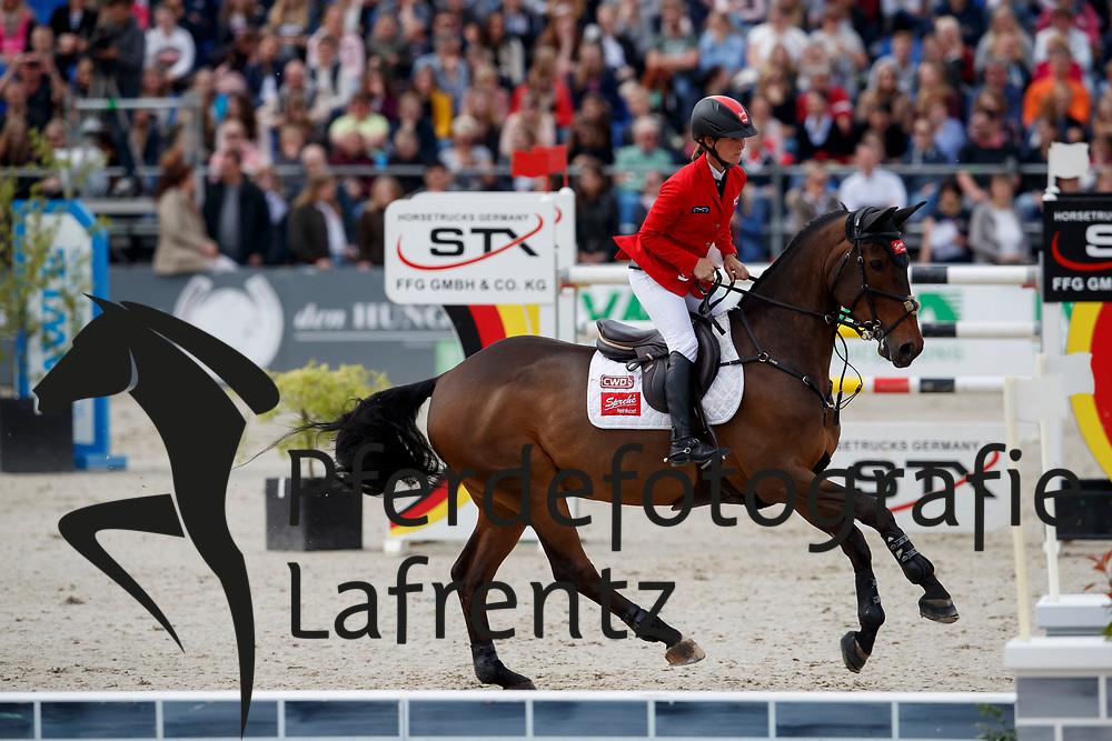 SPREHE Jörne (GER), Stakki's Jumper<br /> Hagen - Horses and Dreams meets the Royal Kingdom of Jordan 2018<br /> Grosser Preis der DKB Qualifikation DKB-Riders Tour<br /> 30 April 2018<br /> www.sportfotos-lafrentz.de/Stefan Lafrentz
