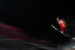 February 12, 2018 - Pyeongchang, SOUTH KOREA - 180212 Silje Opseth of Norway competes in Ski Jumping, Women's Normal Hill Individual Final, during day three of the 2018 Winter Olympics on February 12, 2018 in Pyeongchang..Photo: Joel Marklund / BILDBYRÃ…N / kod JM / 87619 (Credit Image: © Joel Marklund/Bildbyran via ZUMA Press)