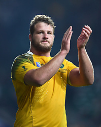 James Slipper of Australia acknowledges the crowd - Mandatory byline: Patrick Khachfe/JMP - 07966 386802 - 03/10/2015 - RUGBY UNION - Twickenham Stadium - London, England - England v Australia - Rugby World Cup 2015 Pool A.