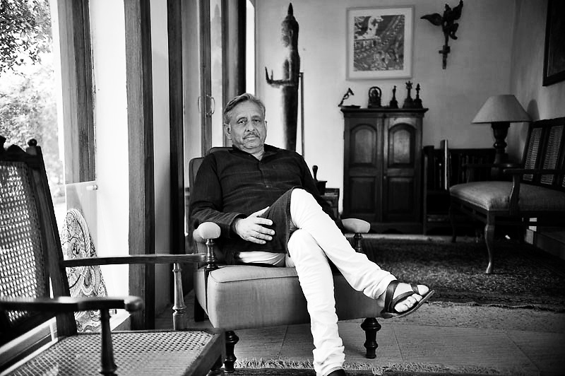 Manishankar Aiyer member of the Indian Parliament, leader of the Congress Party elected from TamilNadu was a former beureacrat. He presently lives in New Delhi & apart from govermental jobs he writes columns for various periodicals & newspapers.Photo by Shome Basu