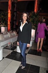 ANDREA MCLEAN at the 50th birthday party for Jonathan Shalit held at the V&A Museum, London on 17th April 2012.