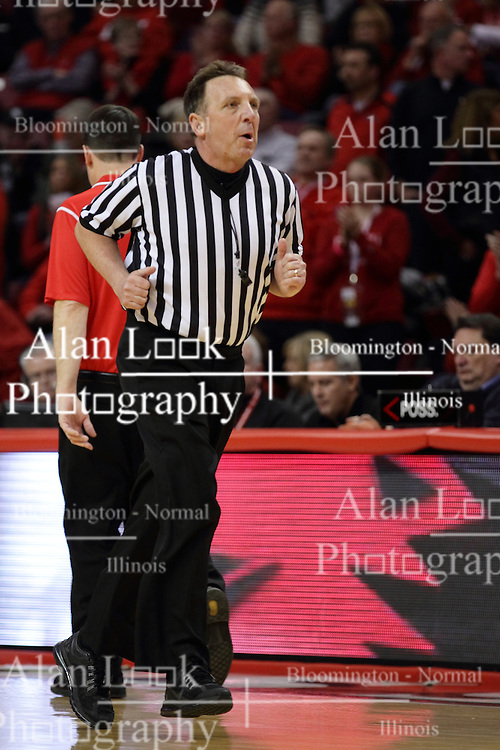 15 January 2016: David Hall during the Illinois State Redbirds v Evansville Purple Aces at Redbird Arena in Normal Illinois (Photo by Alan Look)
