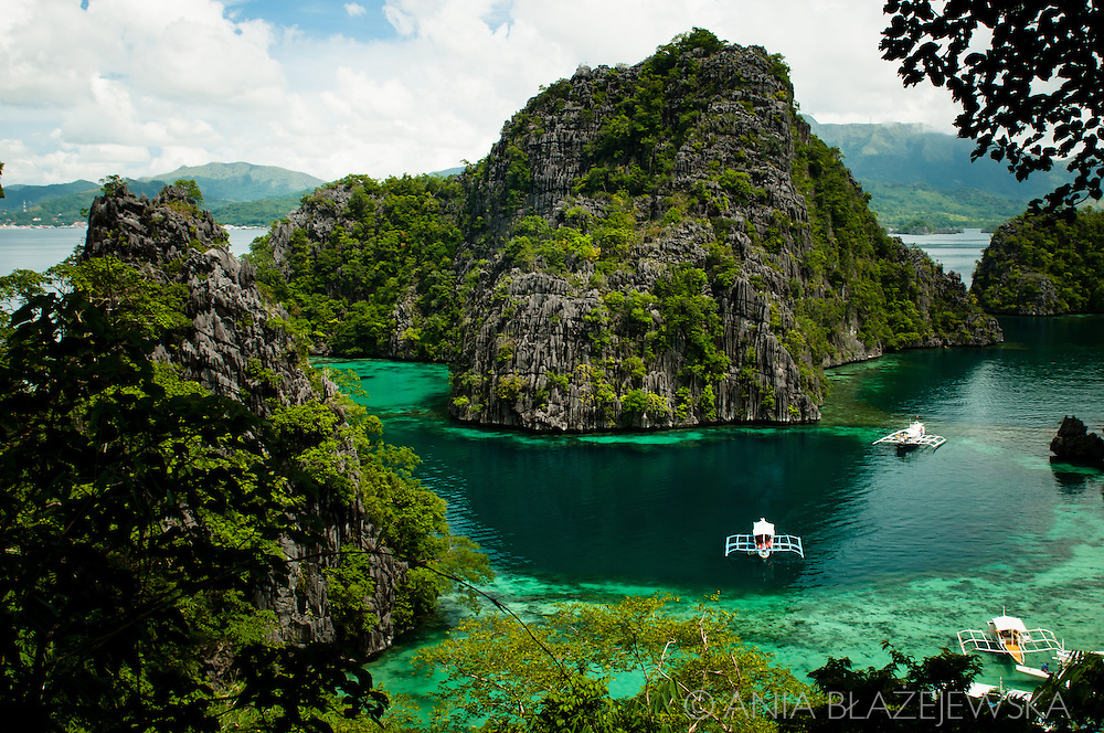 Philippines, Busuanga. Island hopping around the Coron Island.