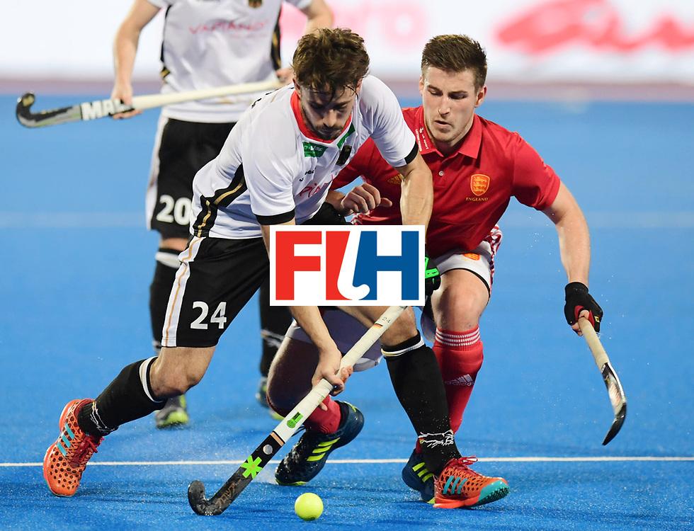 Odisha Men's Hockey World League Final Bhubaneswar 2017<br /> Match id:01<br /> Germany v England<br /> Foto: F&Uuml;RK Benedikt<br /> WORLDSPORTPICS COPYRIGHT FRANK UIJLENBROEK