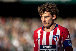 February 3, 2019 - Sevilla, Andalucia, Spain - Griezmann of Atletico de Madrid looks on   during the LaLiga match between Real Betis vs Atletico de Madrid at the Estadio Benito Villamarin in Sevilla, Spain. (Credit Image: © Javier MontañO/Pacific Press via ZUMA Wire)