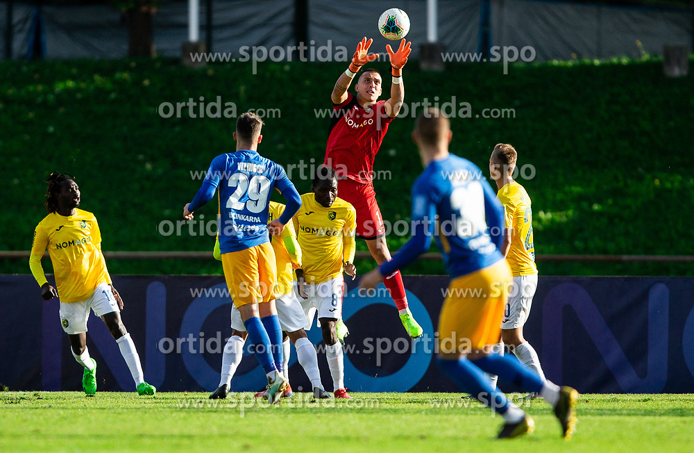 Igor Vekić of Bravo during football match between NK Bravo and NK Celje in 13th Round of Prva liga Telekom Slovenije 2019/20, on October 5, 2019 in ZAK stadium, Ljubljana, Slovenia. Photo by Vid Ponikvar / Sportida