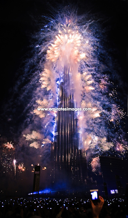 Opening ceremony for Burj Khalifa in Dubai