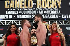 December 14, 2018: Canelo Alvarez vs Rocky Fielding Weigh-In