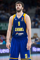 Khimki Moscow Stefan Markovic during Turkish Airlines Euroleague match between Real Madrid and Khimki Moscow at Wizink Center in Madrid, Spain. November 02, 2017. (ALTERPHOTOS/Borja B.Hojas)